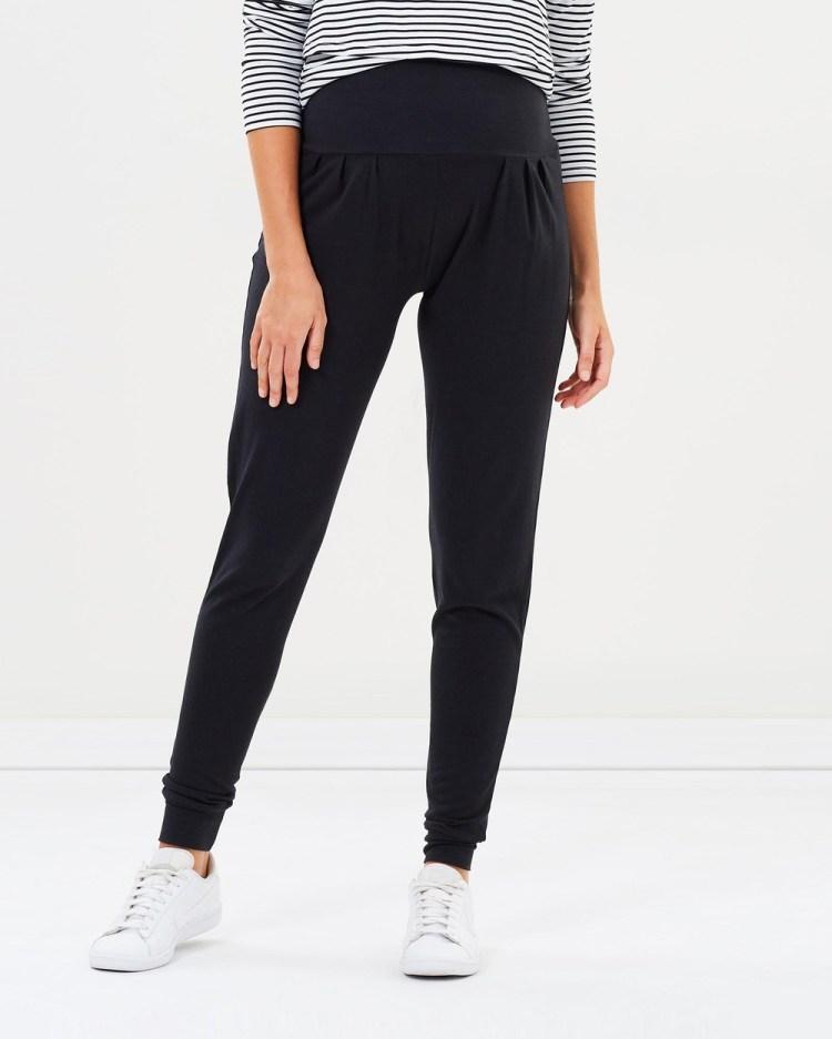 Angel Maternity Bamboo Casual Pants Black
