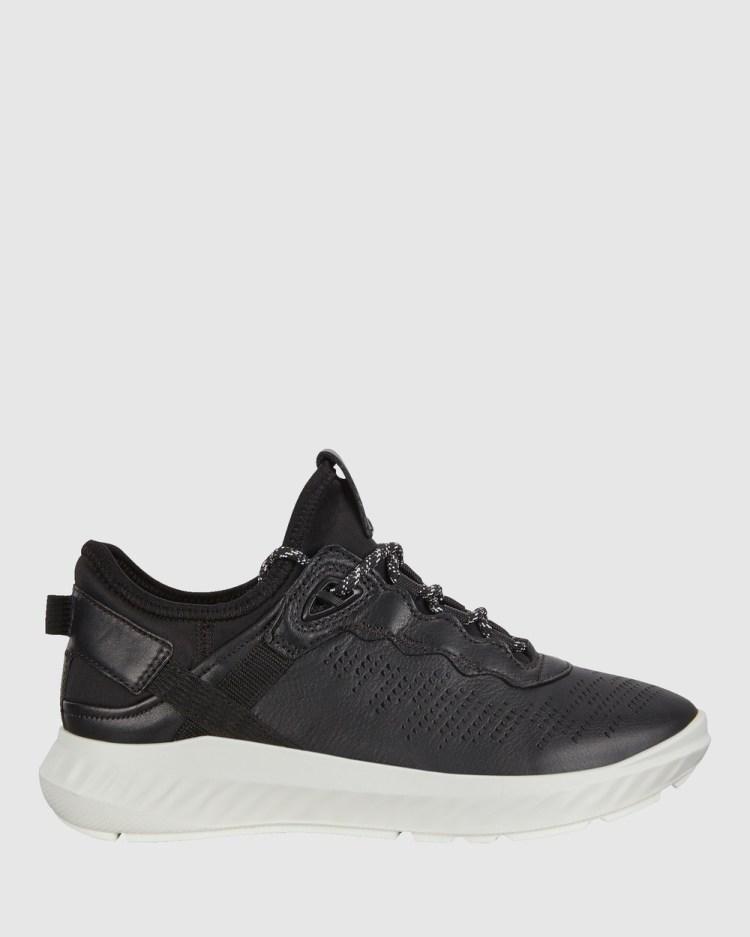 ECCO ST1 Lite Womens Sneakers Lifestyle Black
