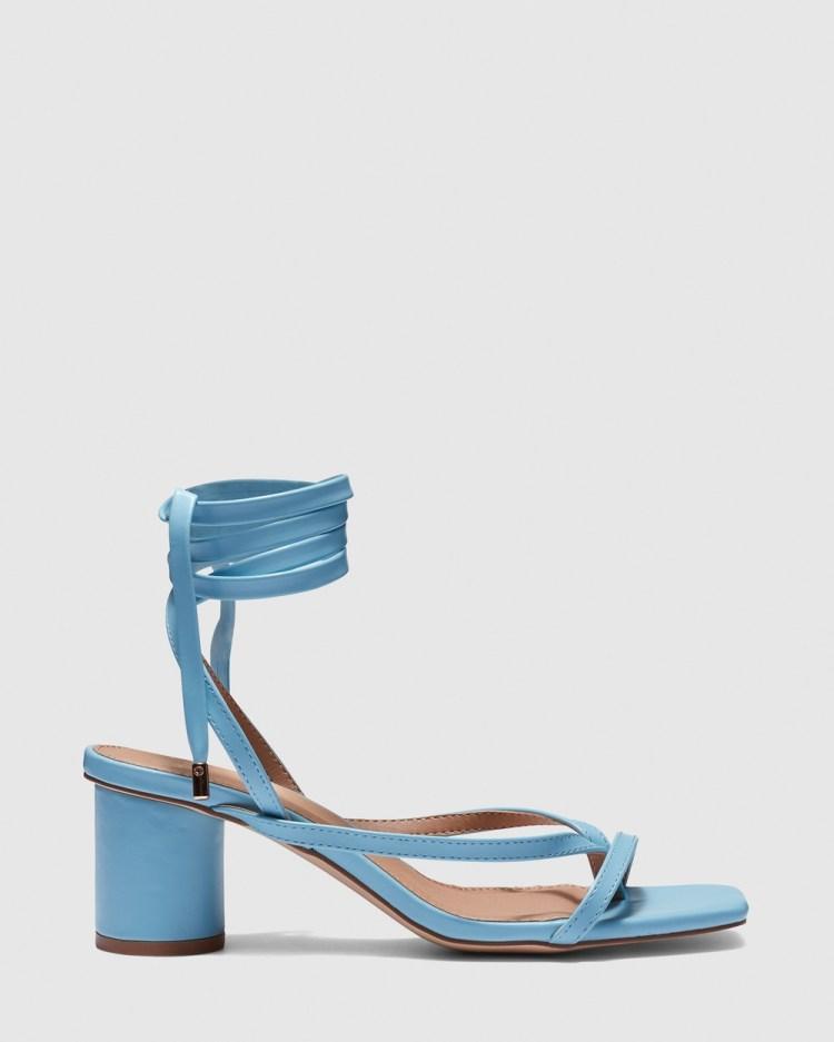 Novo Zuko Mid-low heels Blue