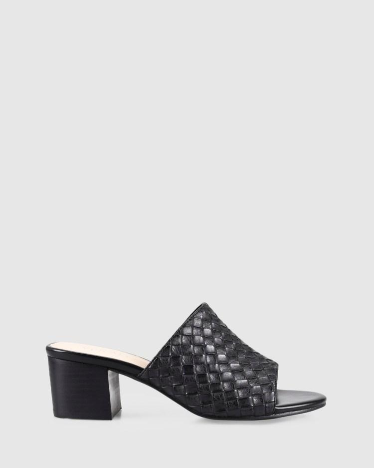 Verali Ezzy Heels Black