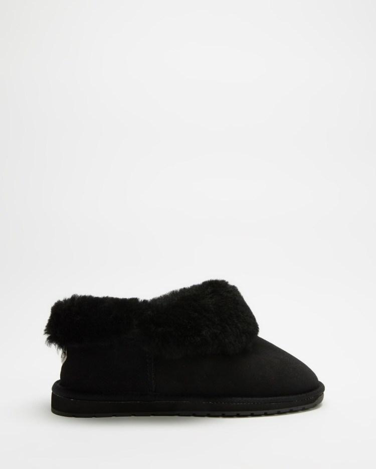 Emu Australia Platinum Mintaro Slippers & Accessories Black
