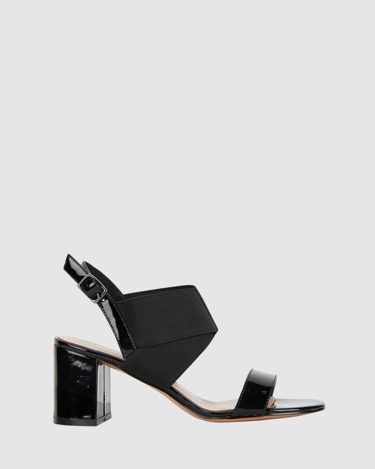 Jane Debster Petal Heels BLACK