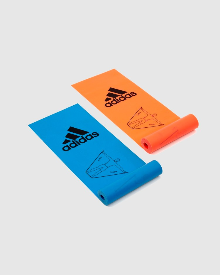 adidas Performance Adidas Training Bands Two Pack Equipment Blue