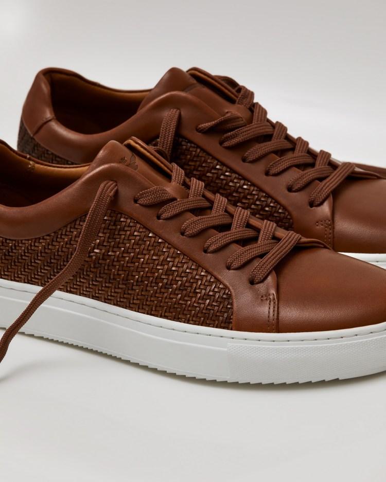 Aquila Aztec Sneakers Low Top Tan