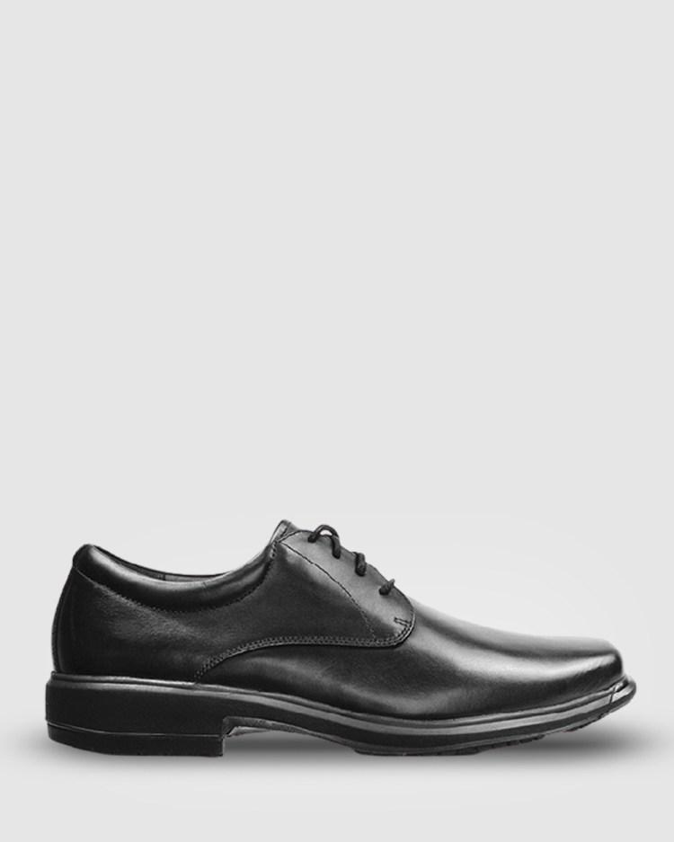 Ascent Contest 4E Width Dress Shoes Black