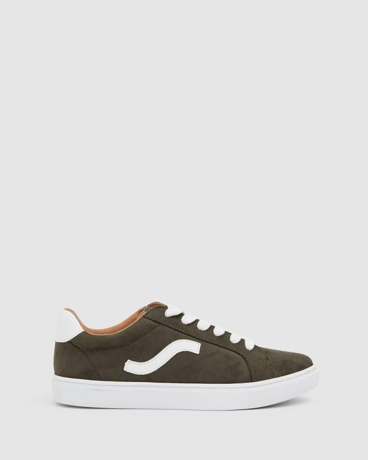 Sandler Swerve Sneakers KHAKI