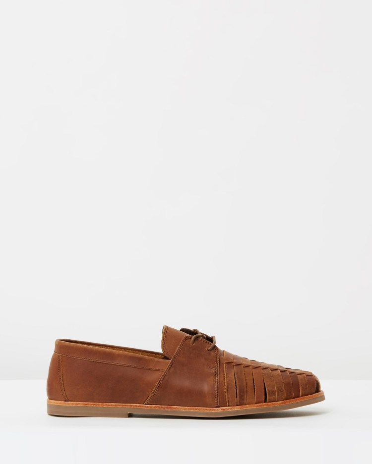 Urge Mister Casual Shoes Mocha Oily Leather