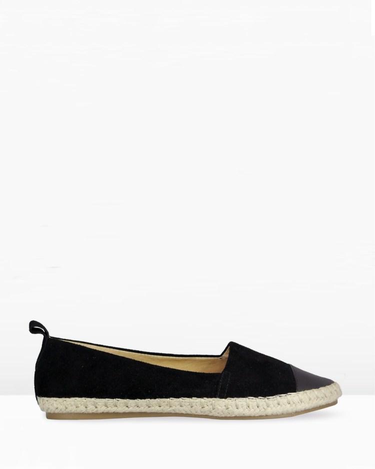 IRIS Footwear Valerie Flats Black