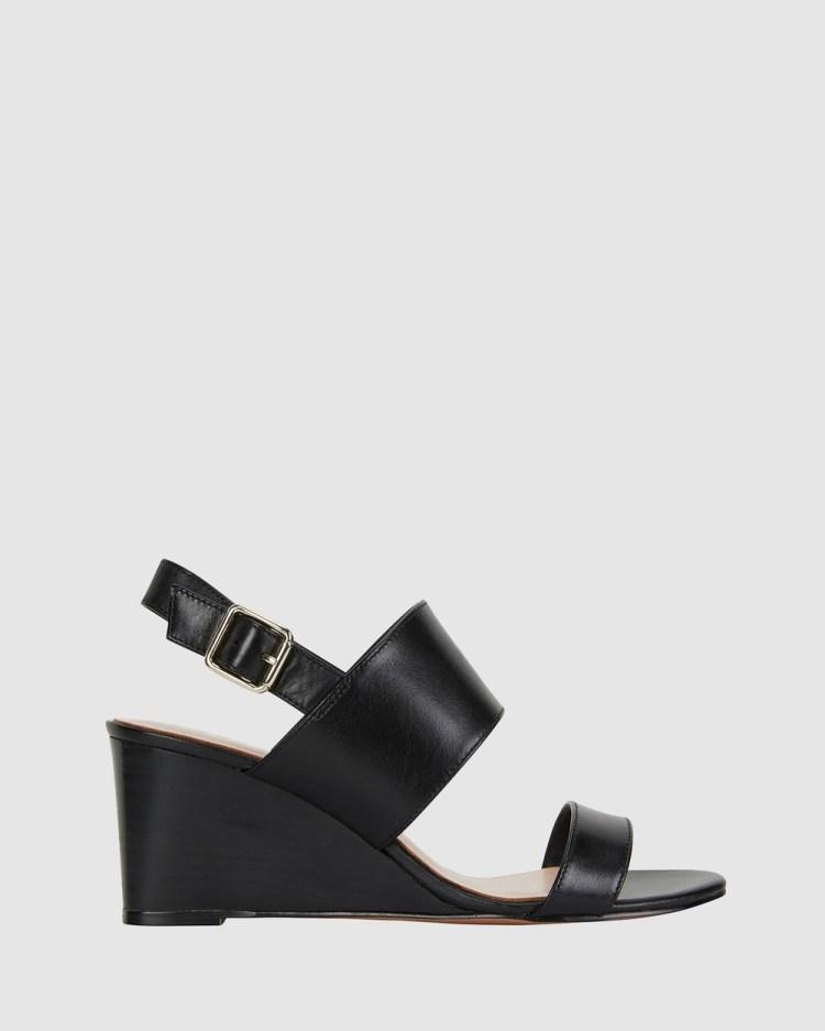 Jane Debster Diana Sandals BLACK