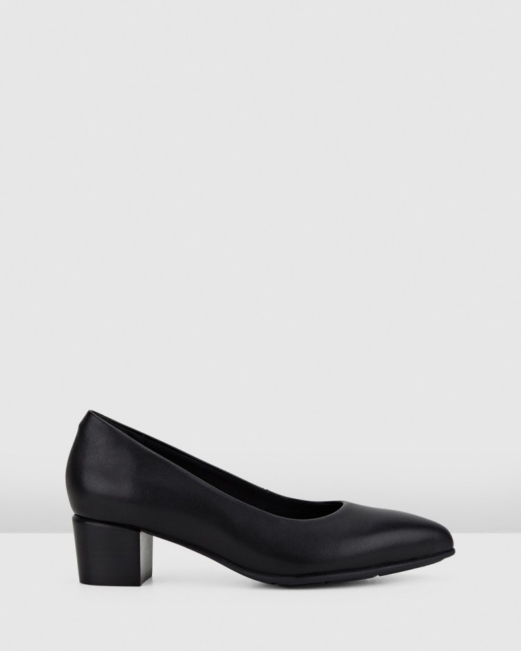 Hush Puppies The Low Point All Pumps Black