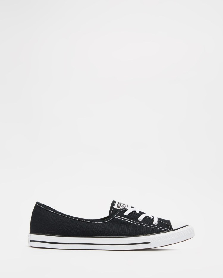 Converse Chuck Taylor All Star Ballet Lace Women's Slip-On Sneakers Black