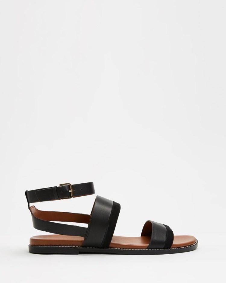 Naturalizer Kelsie Ankle Strap Sandal Sandals Black