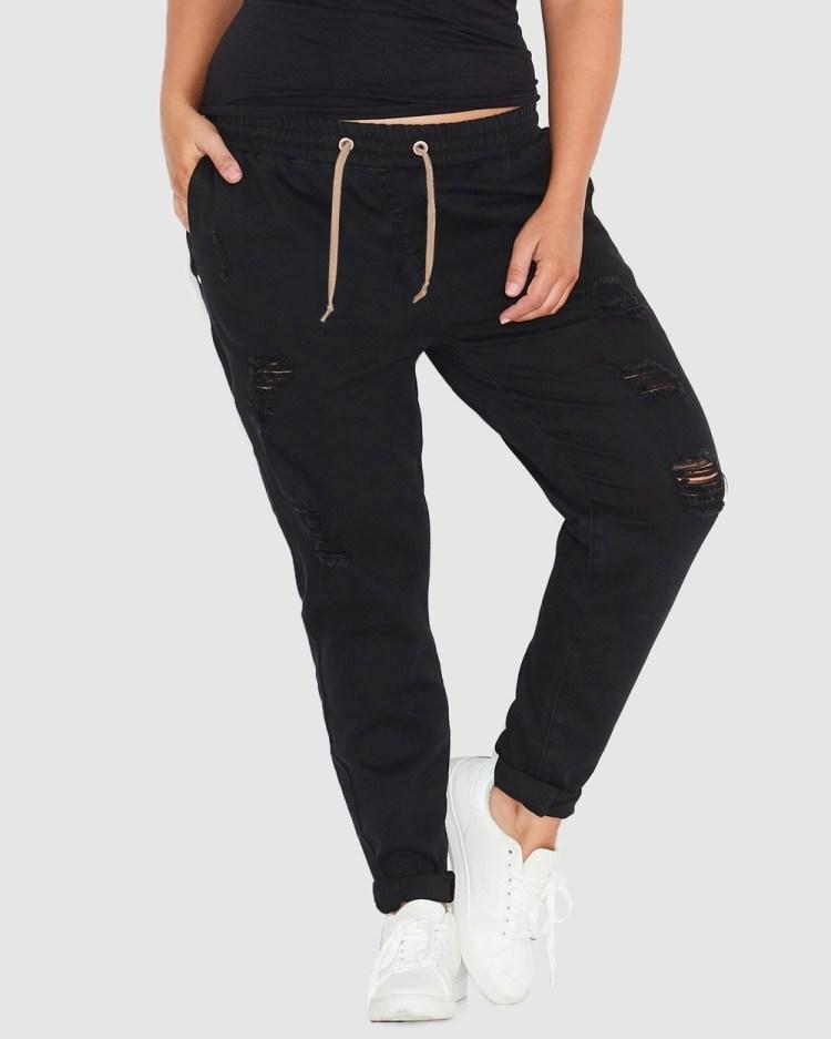 17 Sundays Warpaint Joggers Jeans Black