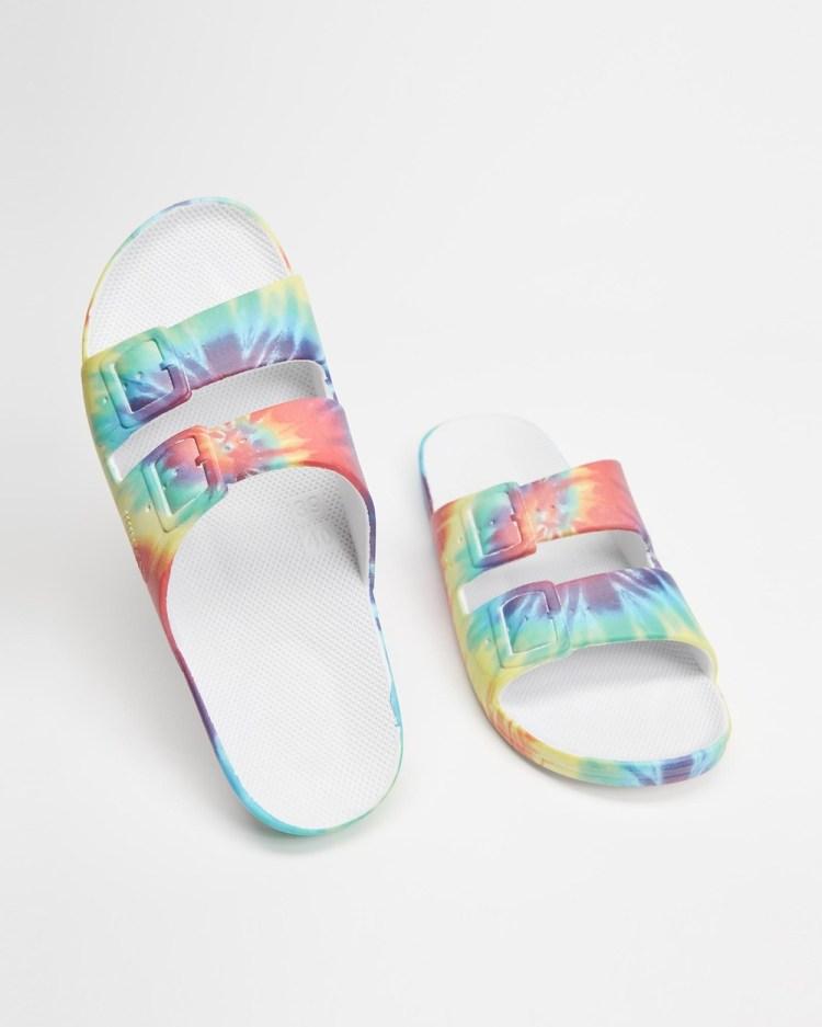 Freedom Moses Slides Unisex Casual Shoes Hendrix