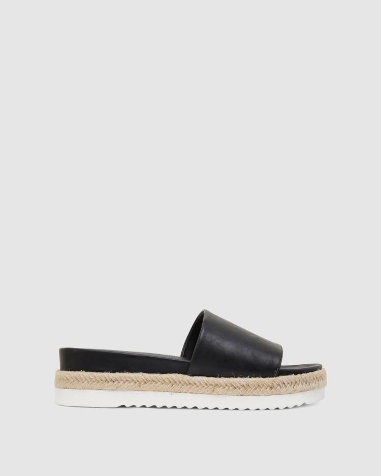 Sandler Waikiki Sandals BLACK