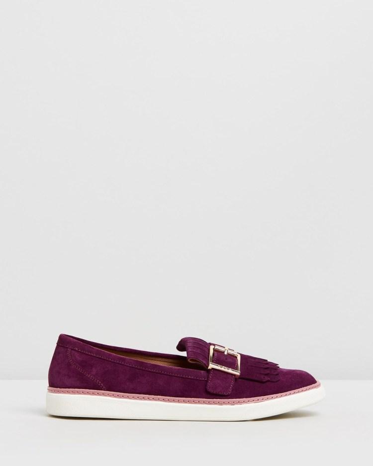 Vionic Cambridge Slip On Loafers Flats Merlot