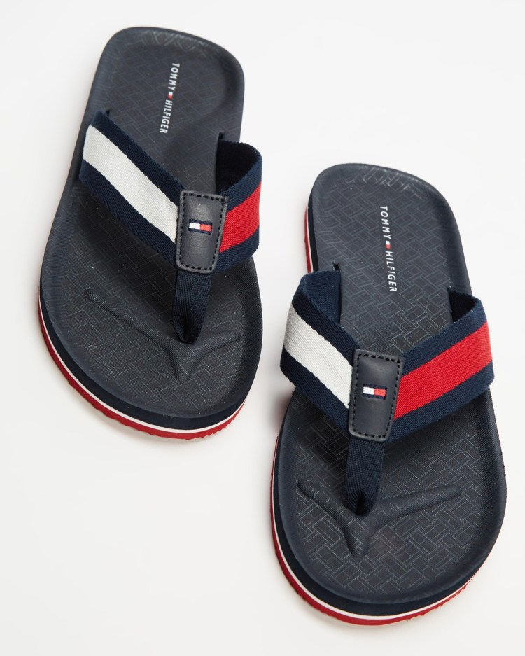 Tommy Hilfiger Comfort Beach Sandals All thongs Navy