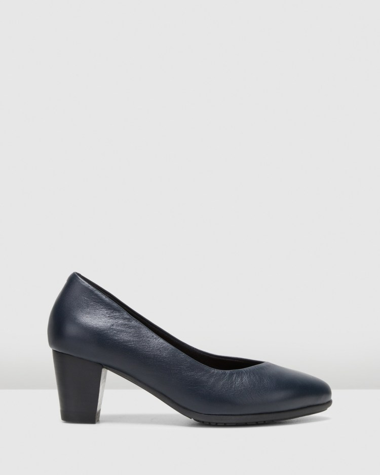Hush Puppies The Point All Pumps Navy