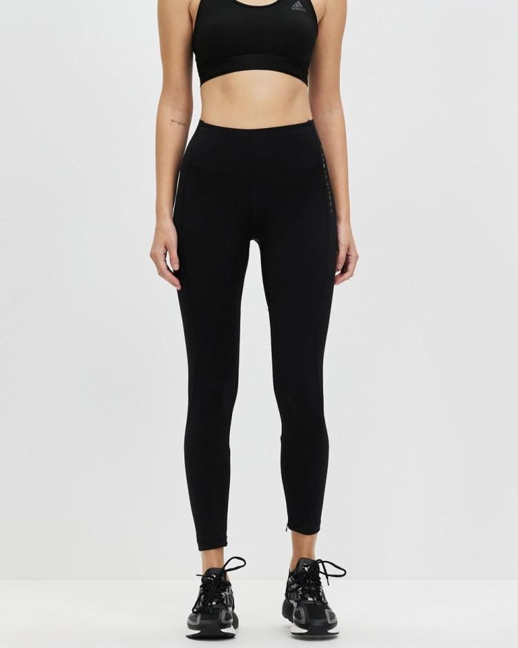adidas Performance Karlie Kloss Run Tights Full Black