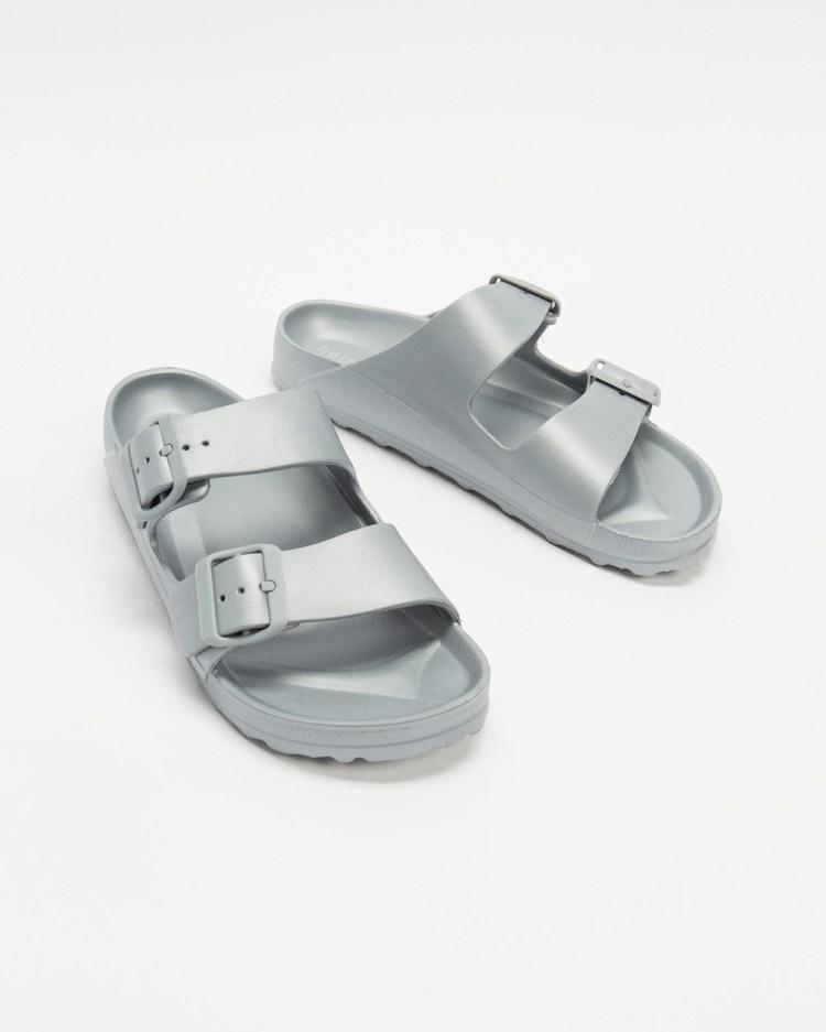 Holster Sundreamer Unisex Slides Casual Shoes Silver