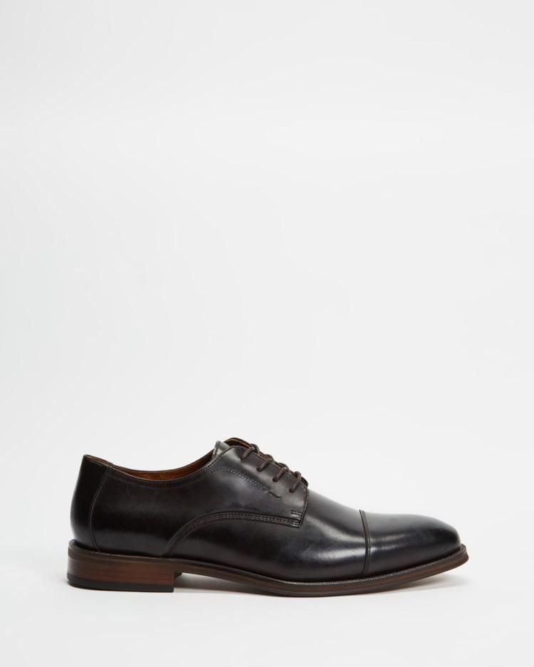 ALDO Steveflex Dress Shoes Cognac