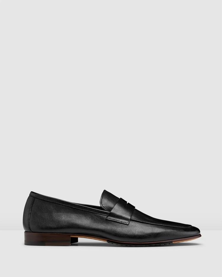 Aquila Eduardo Loafers Flats Black