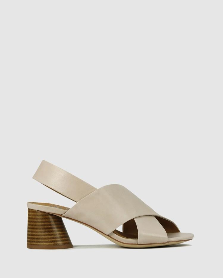 Eos Petal Sandals Nude