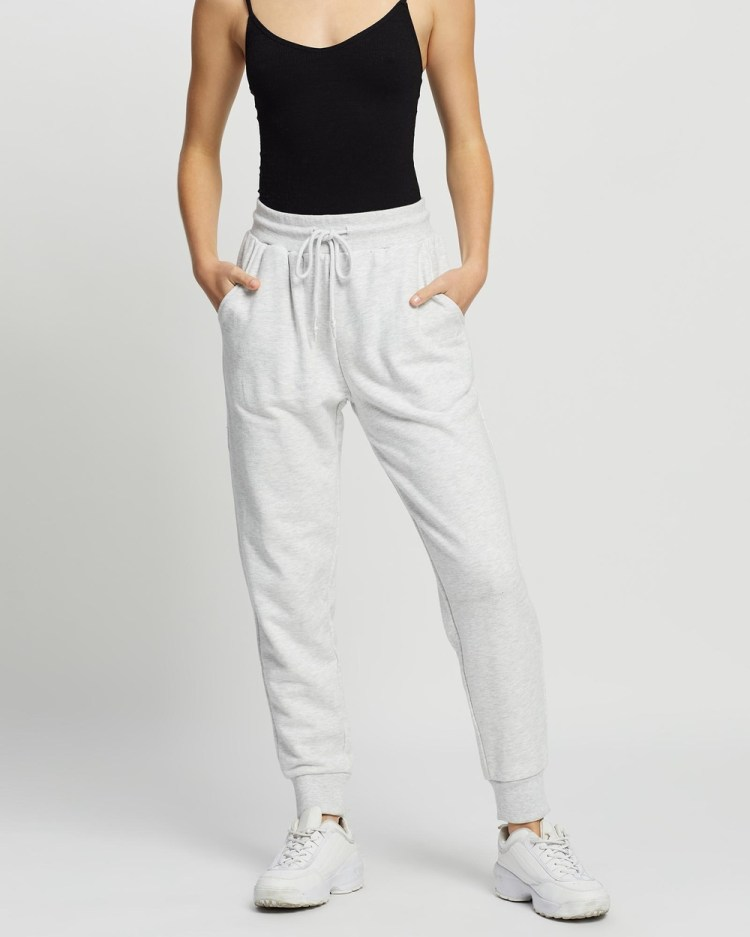All About Eve Old School Trackpants Pants SNOW MARLE