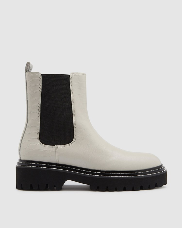 LMS The Cara Boots White