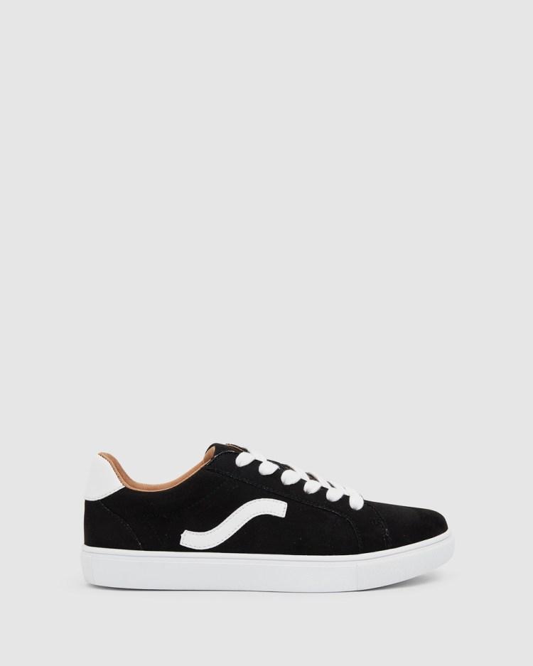 Sandler Swerve Sneakers BLACK