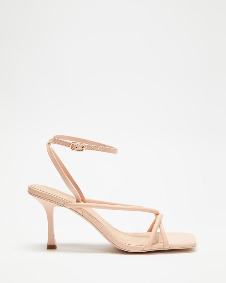 Manning Cartell Set the Tone Heels Sandals Pastel Pink