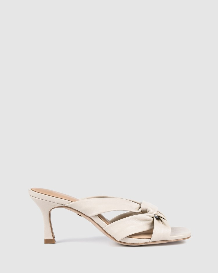 Robert Lincoln Mid-low heels White