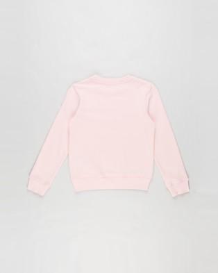 Calvin Klein Jeans Monogram Logo Sweatshirt Teens Sweats Sand Rose