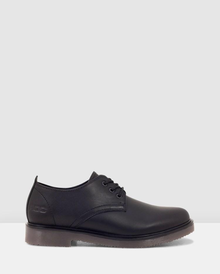 ROC Boots Australia Luxe Flats Black
