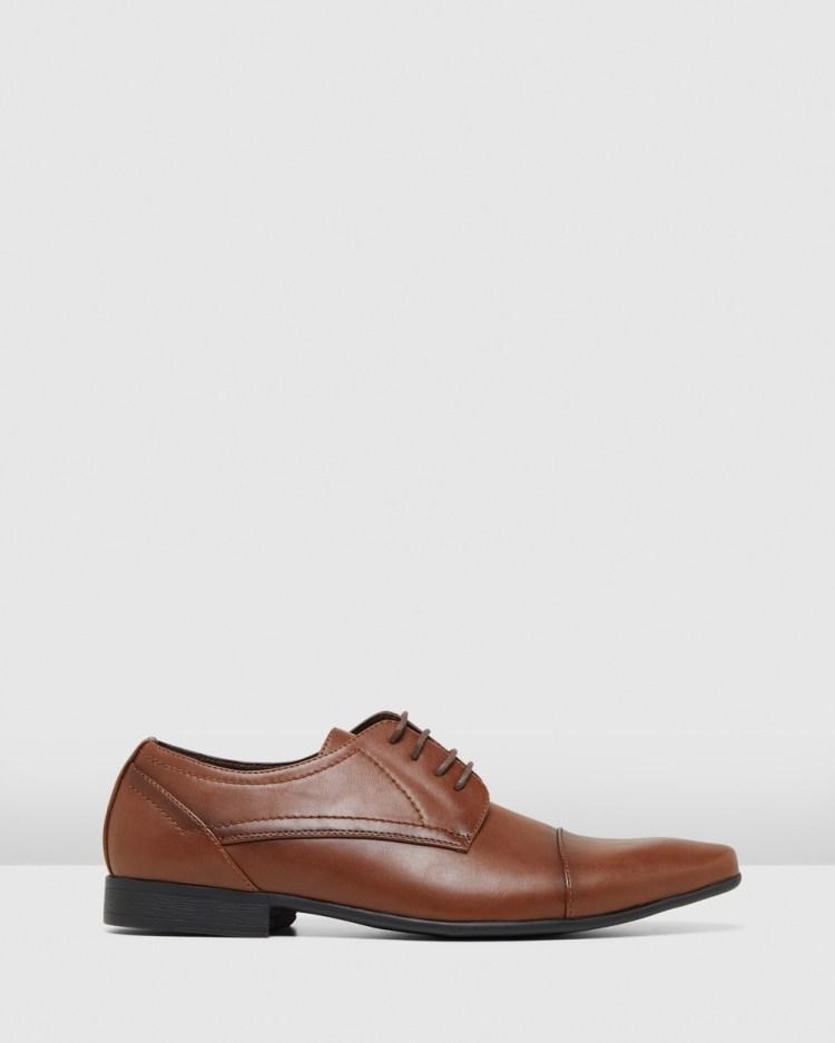 JM Ormond Dress Shoes Tan