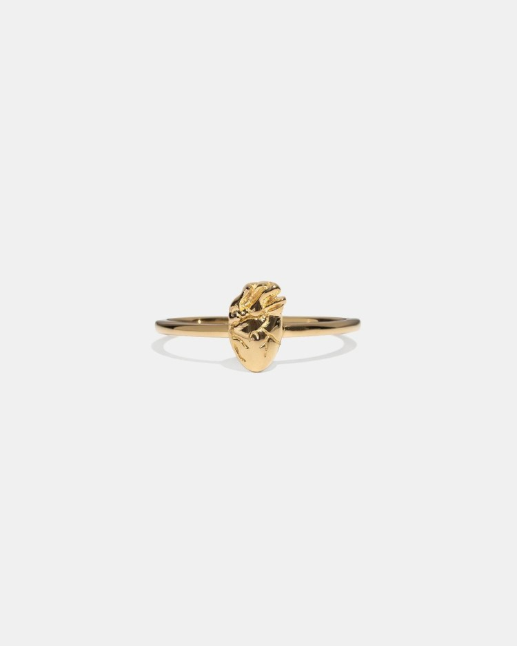 Aletheia & Phos I Carry Your Heart Ring Jewellery Gold
