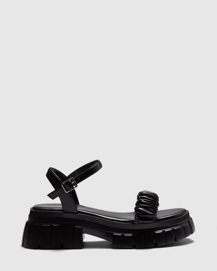 Novo Zaki Sandals Black