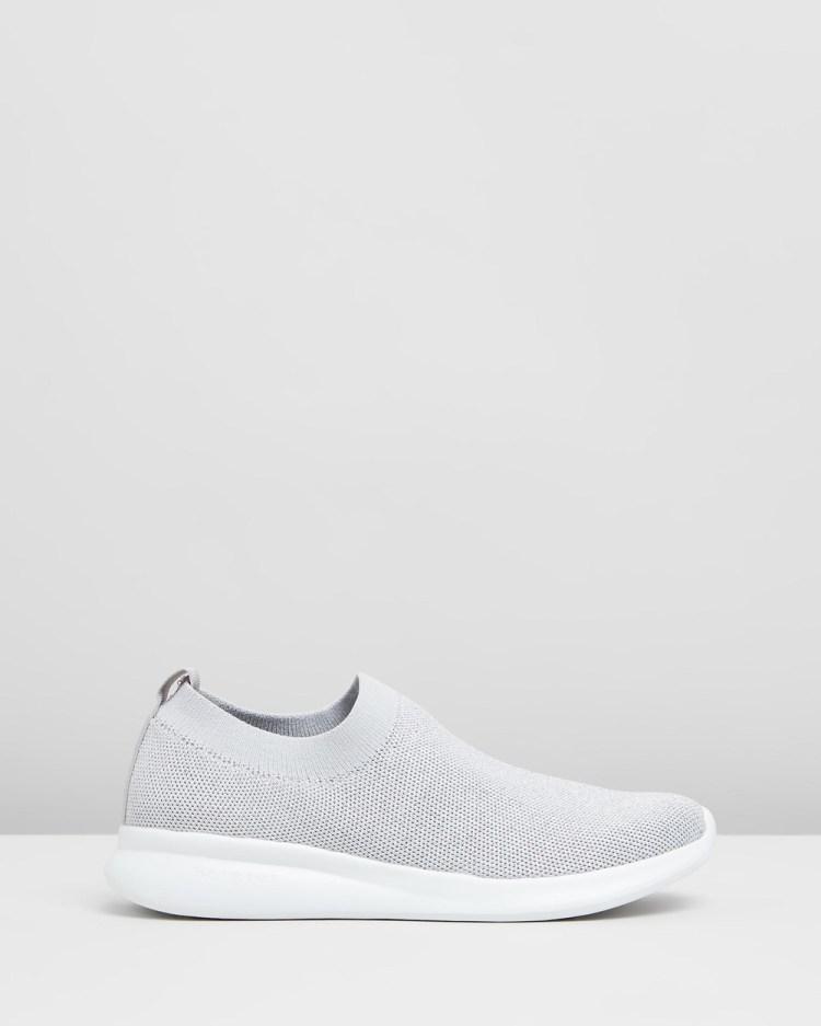 Holster Blaze Slip-On Sneakers Silver
