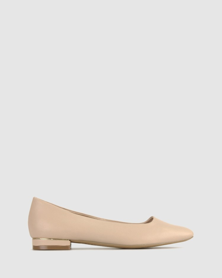 Betts Stevie Ballet Flats Casual Shoes Nude