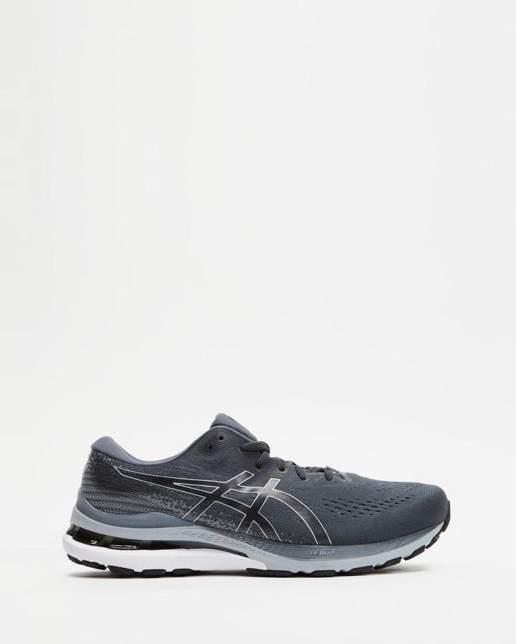 ASICS GEL Kayano 28 4E Extra Wide Mens Performance Shoes Carrier Grey & Black GEL-Kayano