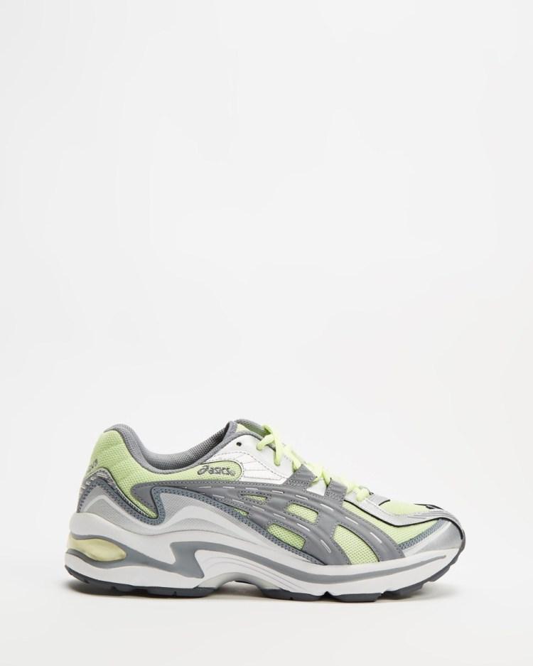 ASICS GEL Preleus Unisex Lifestyle Sneakers Illuminate Yellow & Sheet Rock GEL-Preleus
