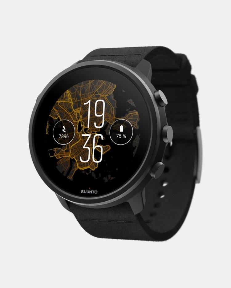 Suunto 7 Titanium Smart Watches Black