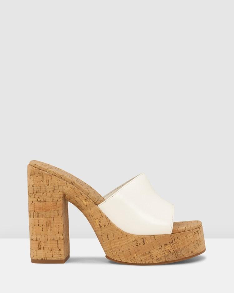 ROC Boots Australia Cashew Sandals White