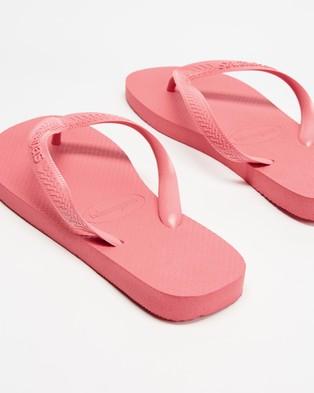 Havaianas - Top Basic Havaianas   Women's - All thongs (Pink Porcelain) Top Basic Havaianas - Women's
