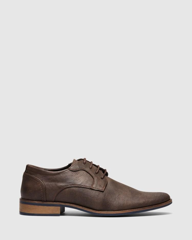 Uncut Hartley Dress Shoes Chocolate