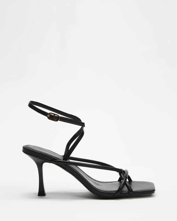 Manning Cartell ICONIC EXCLUSIVE Set the Tone Heels Sandals Black