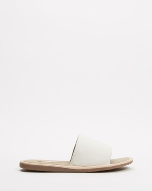AERE Organic Canvas House Slides Slippers & Accessories Natural