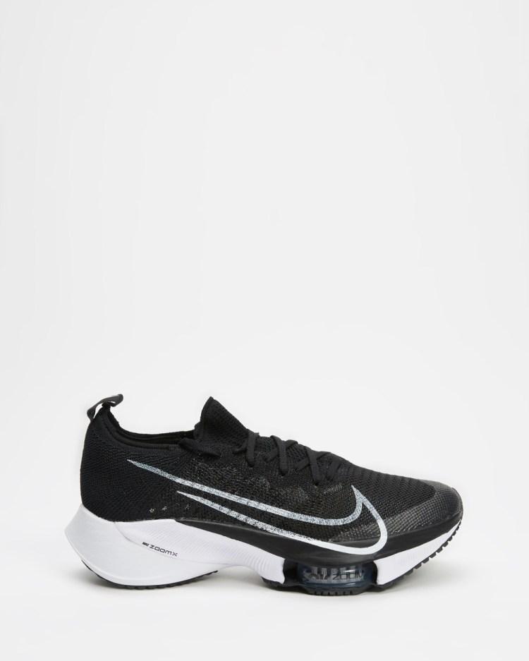 Nike Air Zoom Tempo NEXT% Women's Walking White, Anthracite & Pure Platinum Black