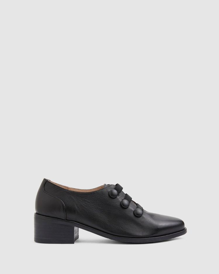 Jane Debster Edison Mid-low heels BLACK