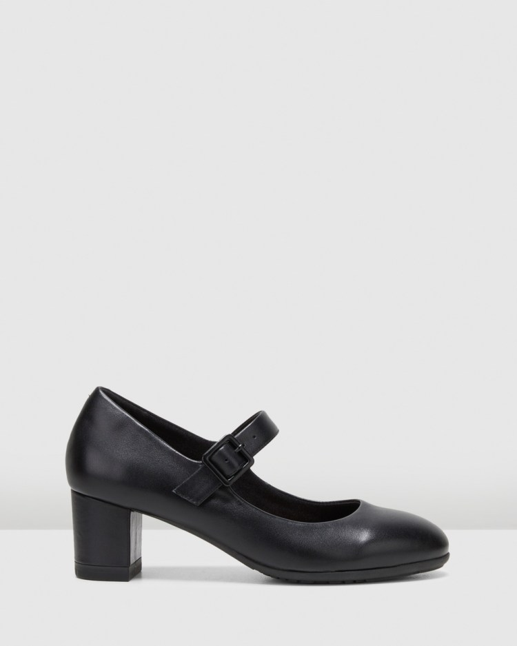 Hush Puppies The Mary Jane All Pumps Black
